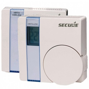 Wall Thermostat with LCD display plus actuator
