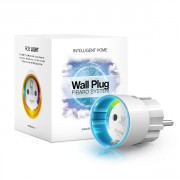 Wall Plug Switch with mettering Fibaro Z-Wave Plus